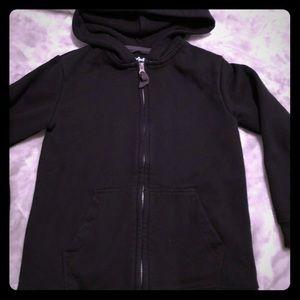 Girls cat & Jack zip up hoodie